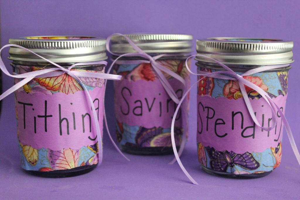 Mason jar piggy banks for Mason jar piggy bank
