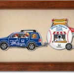 Honda Baseball Pin