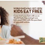 Kids Eat FREE Olive Garden Coupon