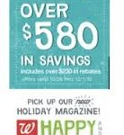 Walgreen's November Coupon Booklet