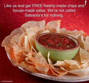 $10 off Salsaritas Fresh Cantina Coupons and online discounts in Vestal. Coupons for Salsaritas Fresh Cantina and it is a Mexican restaurant with a location at Vestal Pky E in Vestal, NY.6/10(25).