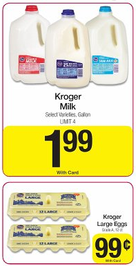 Kroger Milk http://fun2bfrugal.com/kroger-great-prices-on-milk-eggs