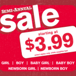 Crazy 8 Semi Annual Sale