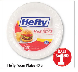 Family Dollar Hefty Plates