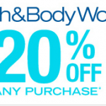 Bath & Body Works Coupon