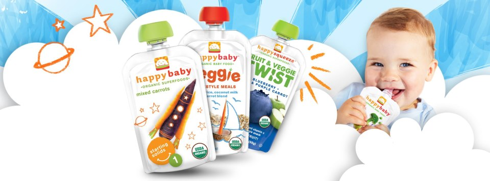 Happy Family Baby Food Coupon