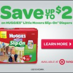 Printable $2/1 Huggies Slip On Diapers Coupon