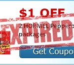Hormel Pepperoni Packs Only $0.50 Each After Coupon