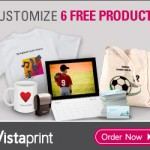 Vistaprint: 6 FREE Products