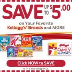 Kellogg's Family Rewards: 120 New Points