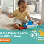 Pampers Gifts to Grow: 10 New Bonus Points
