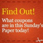 Sunday Coupons: Ad Insert List