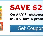 **HOT** $2/1 Flintstones Vitamins Coupon