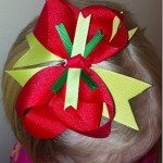 Christmas Hair Bow Winner!