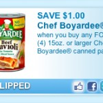 Great Chef Boyardee Coupon
