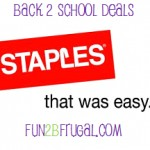Coupons For Staples Ad 8/19-8/25