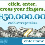 $50,000 American Family Sweepstakes