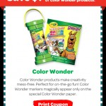 New Crayola Wonder Coupons