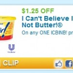 Coupons For I Can't Believe It's Not Butter