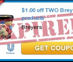 Breyers Ice Cream Only $1.50 At Rite Aid!