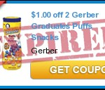 Gerber Baby Coupons Reset