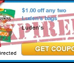 New $1/2 Luden&#8217;s Bags Coupon