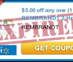 New High Value Rembrandt Coupons