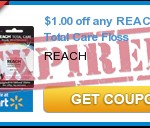High Value$1/1 Reach Floss Coupon