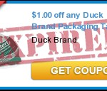 FREE Duck Brand Tape After Coupon
