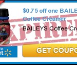 New $0.75/1 Baileys Coffee Creamer Coupon
