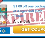 High Value $1/1 Angel Soft Bath Tissue Coupon