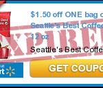 Seattle&#8217;s Best 12oz. Coffee Only $3.88!