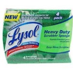 New $0.50/1 Lysol Scrubber Sponge Coupon