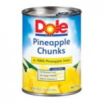 $1/3 Dole Pineapple Cans