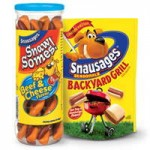 New $1/1Snausages Dog Snack