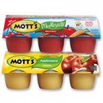 Coupons For $1.10/2Mott&#8217;s Applesauce Snack