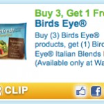Rare Birds Eye B3G1 FREE Coupon