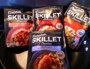 campbells skillet sauces free