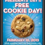 Subway: FREE Cookie!