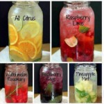 Homemade Flavored Water Drinks