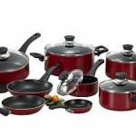 T-Fal Inspirations Red 20 Pc. Nonstick Aluminum Cookware Set $22.99