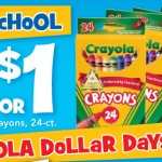 Crayola Crayons Only $0.25 Per Pack