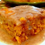 Recipe: Pumpkin Cake with Apple Cider Glaze