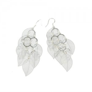 leaf-shaped-earrings