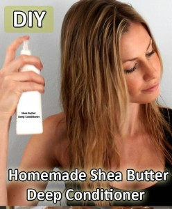 Homemade Shea Butter Deep Conditioner