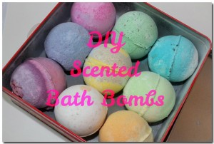 DIY Scented Bath Bombs