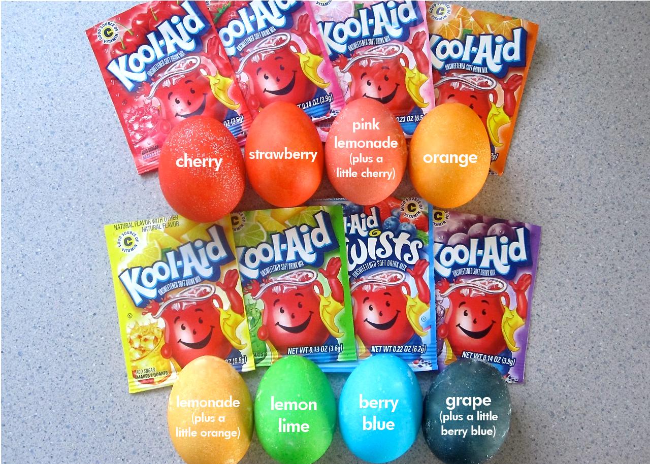 Kool-Eggs: Using Kool-Aid to Dye Easter Eggs
