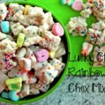 Recipe: Lucky Rainbow Chex Mix