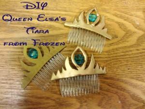 DIY Queen Elsa Tiaras