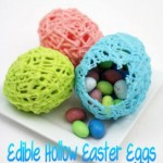 Recipe: Edible Hollow Easter Eggs